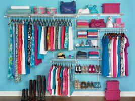 Como organizar guarda roupas de forma rápida Armazenamento e Prateleiras Casa e Jardim  organize